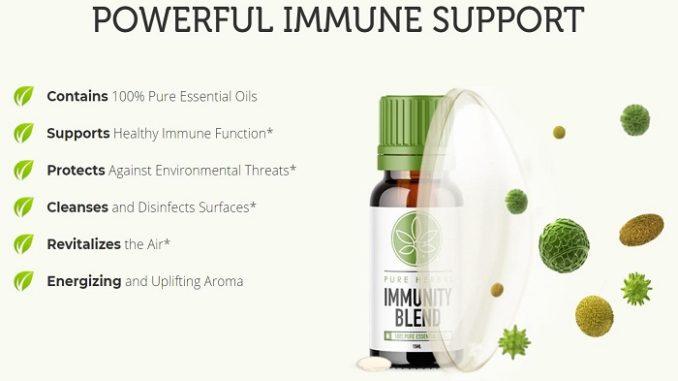Pure Herbal Total Defense Immunity Blend Oil