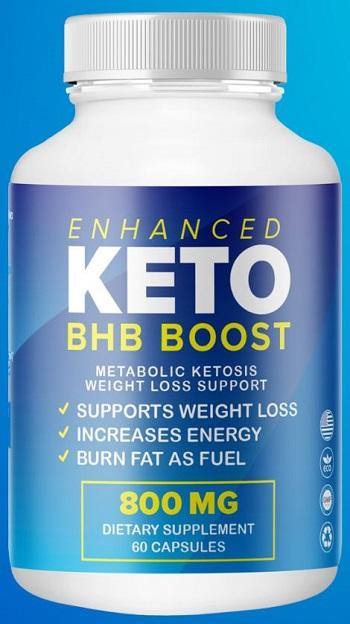 Enhanced Keto BHB Boost Pills
