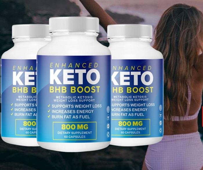 Enhanced Keto BHB Boost Shark Tank