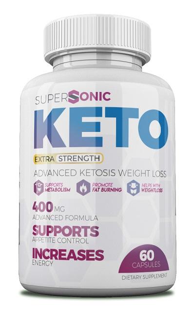 Supersonic keto pills