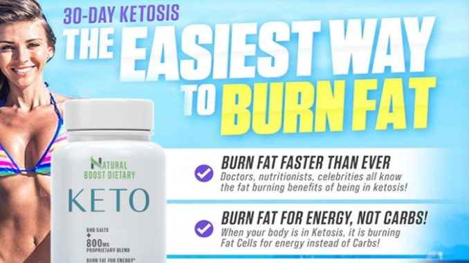 Natural Boost Dietary Keto Reviews