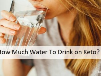 How Much Water To Drink on Keto